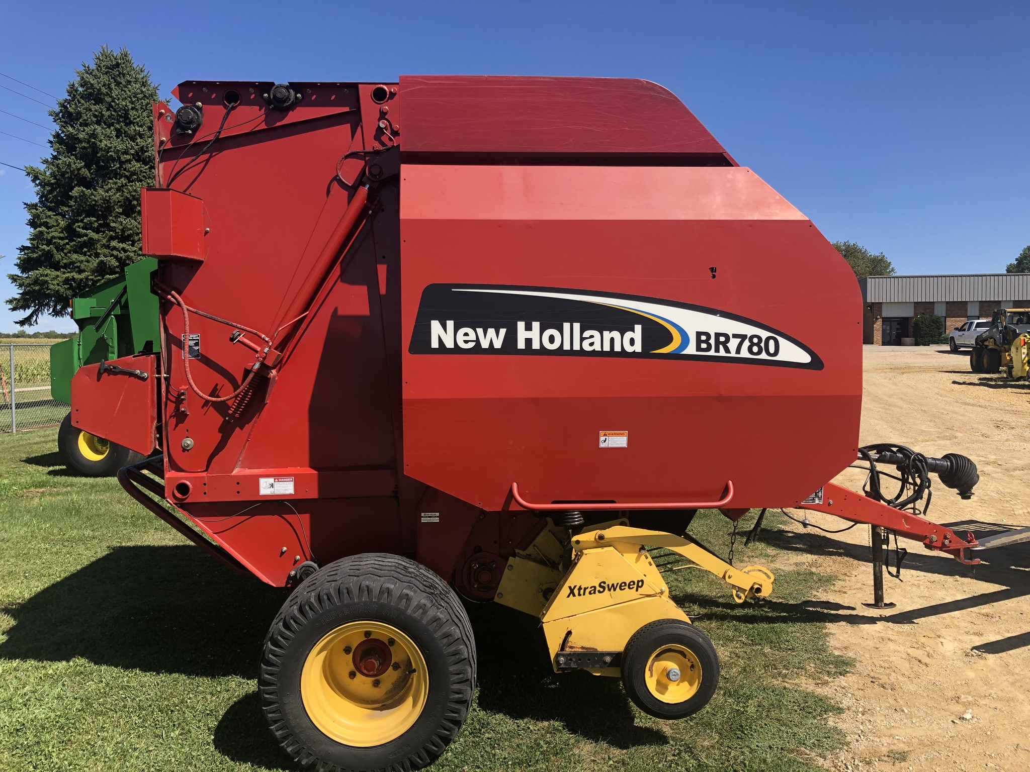 2002 New Holland BR780